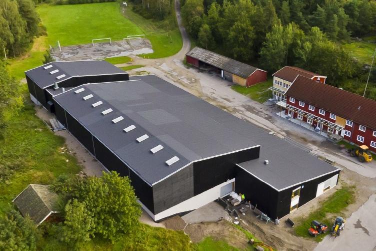 kaldnes idrettshall Sarpsborg entreprenør