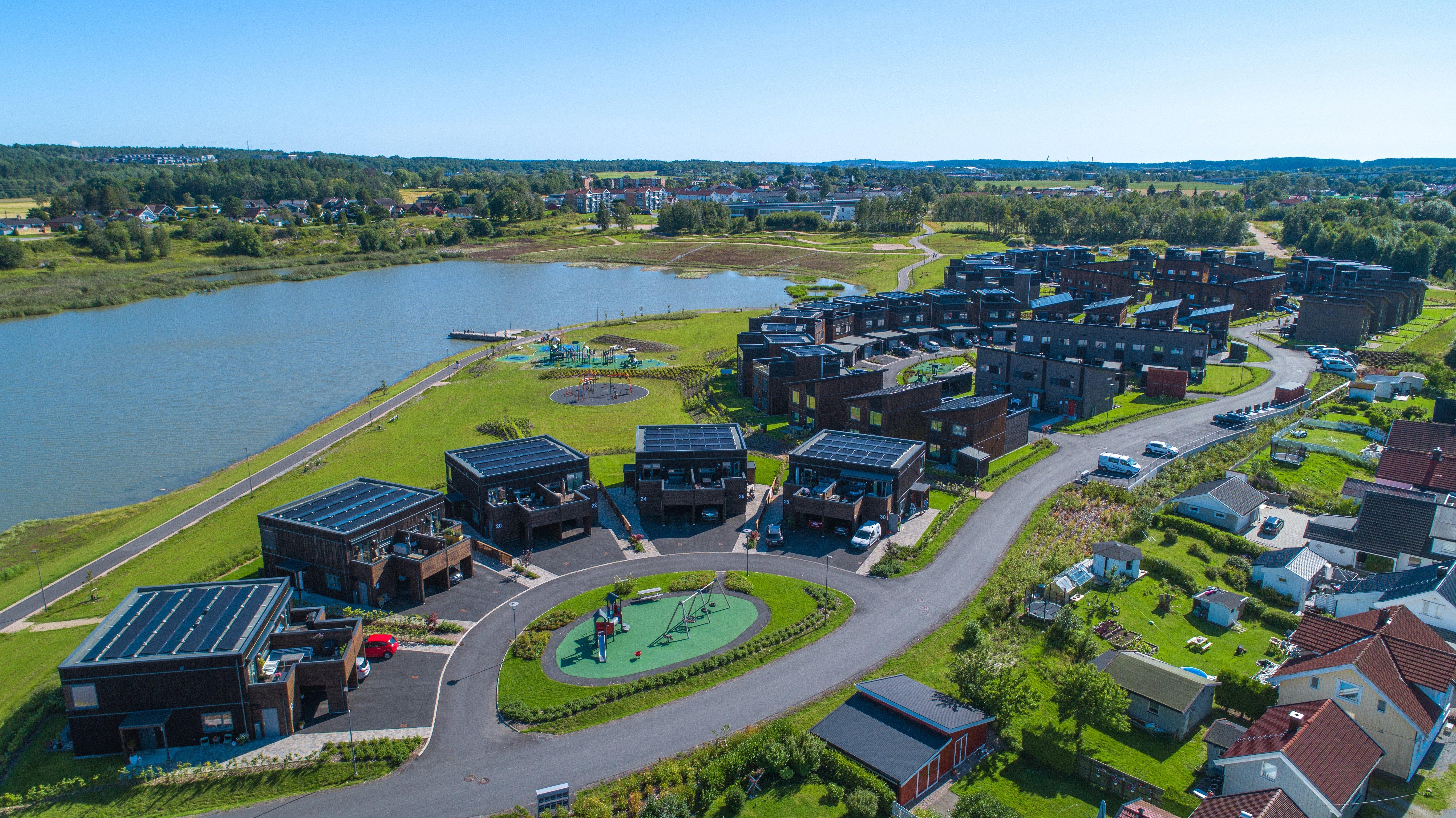 Verkshagen, Verksbyen