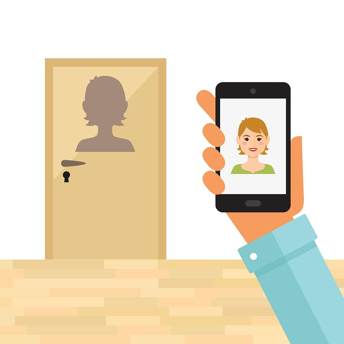 Med Future Living kan du se hvem som er på døren