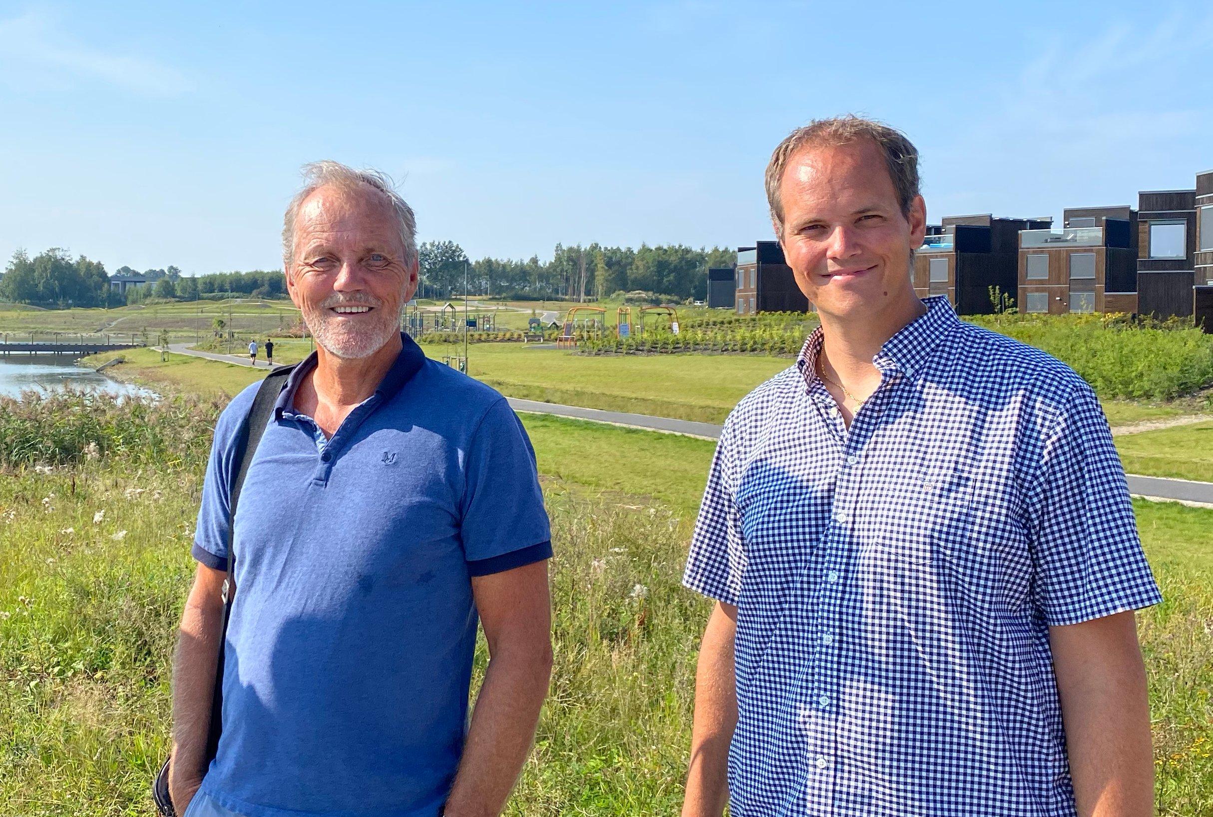 Landskapsarkitekt Per Andre Hansen og Ruben Hansen