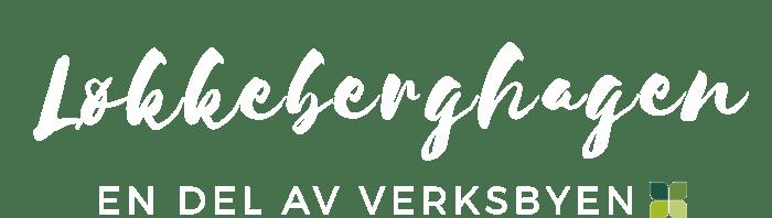 Logo Løkkeberghagen_HVIT copy