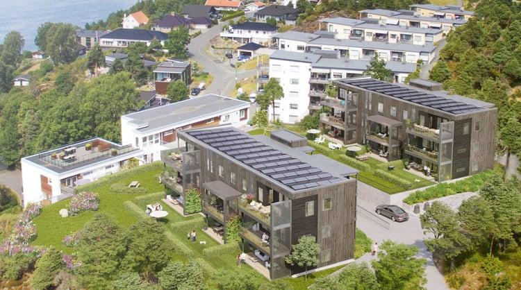 Solenergi Røysåsen Panorama II Moss