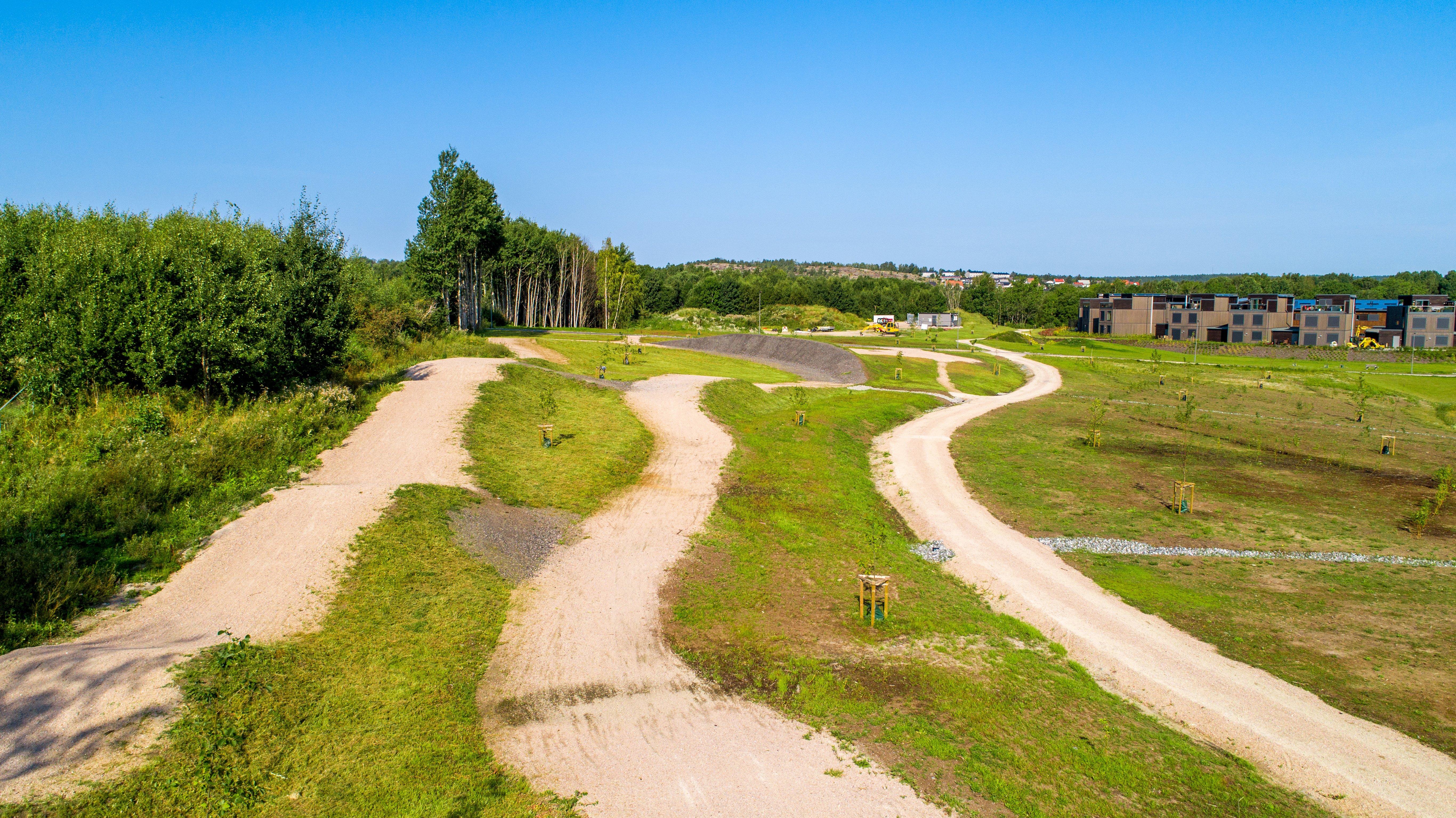 Terrengsykkelbane - Verksbyen Verksparken