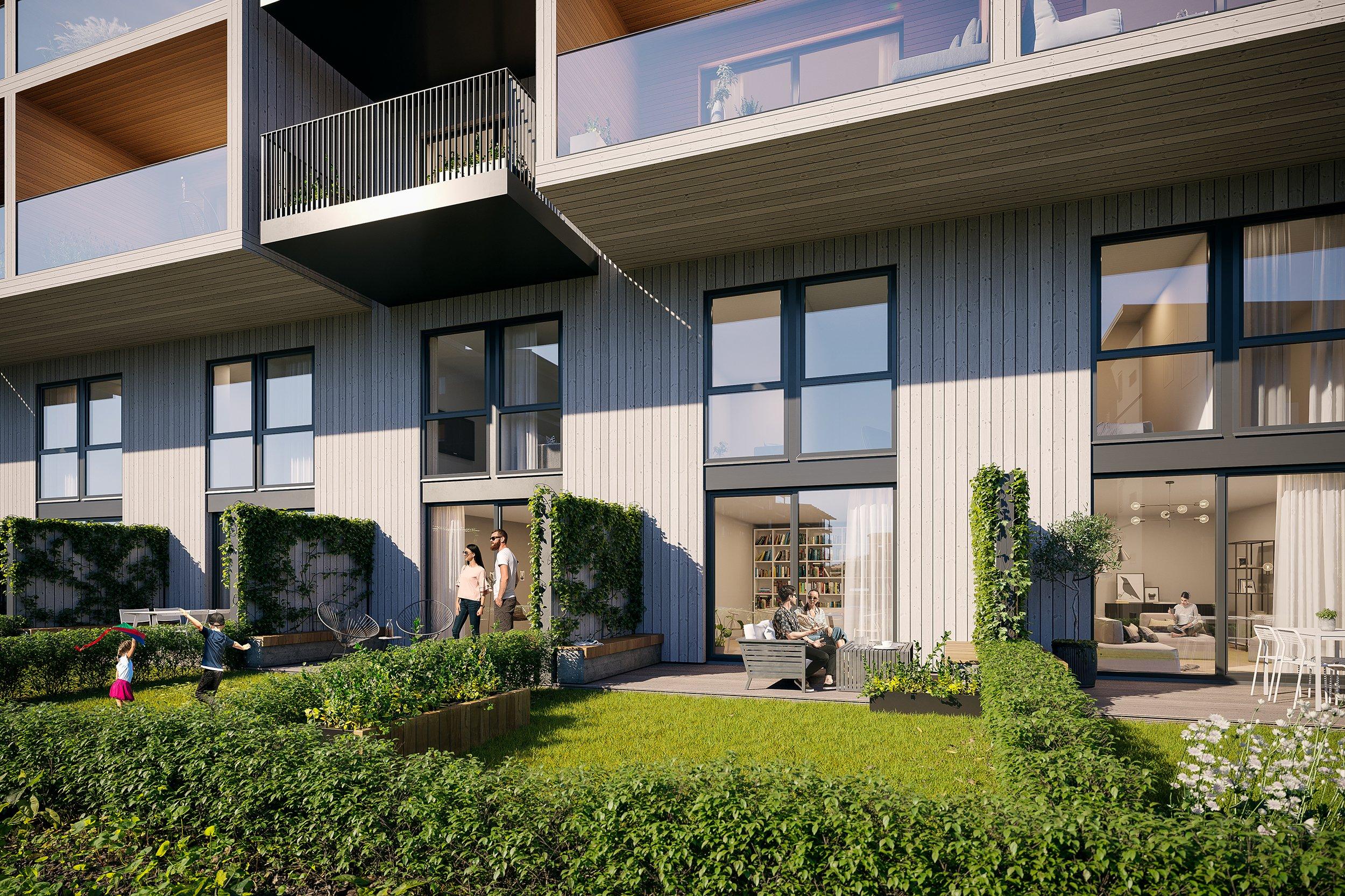 Verket Atrium - Bygg A - Townhouse