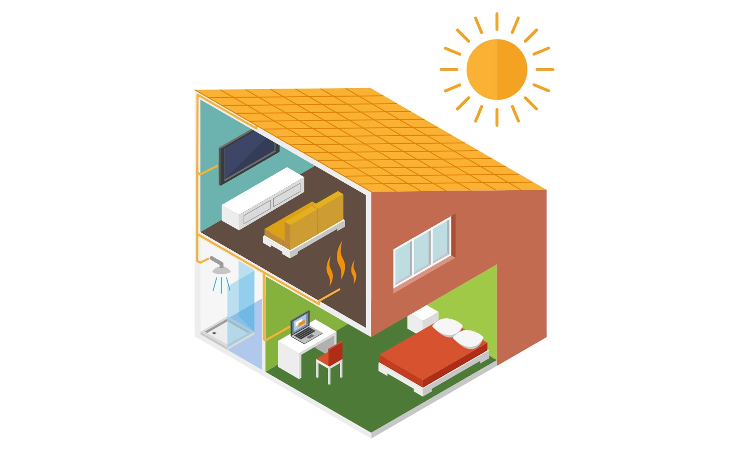 Future Living boliger får energi fra solen