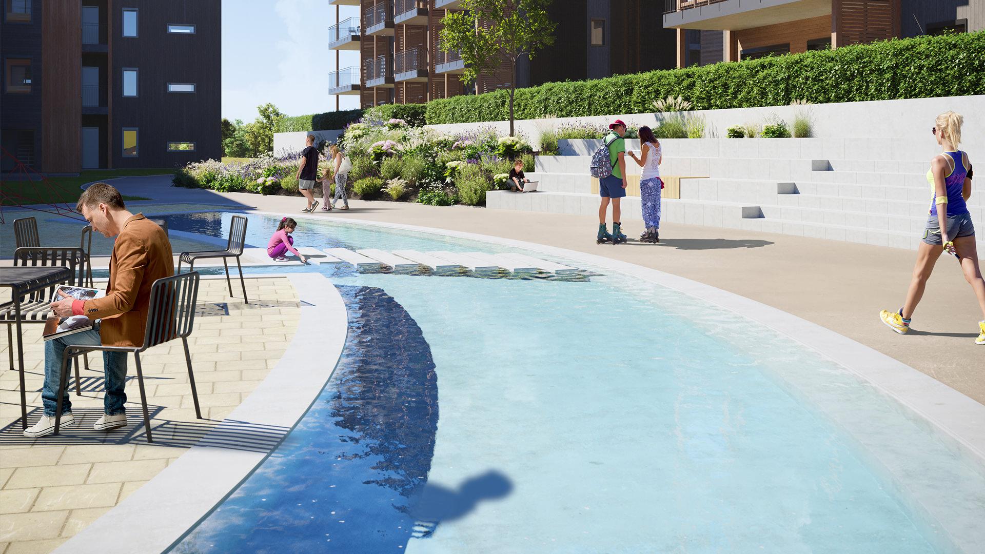 vannspeil boligprosjekt capjon park