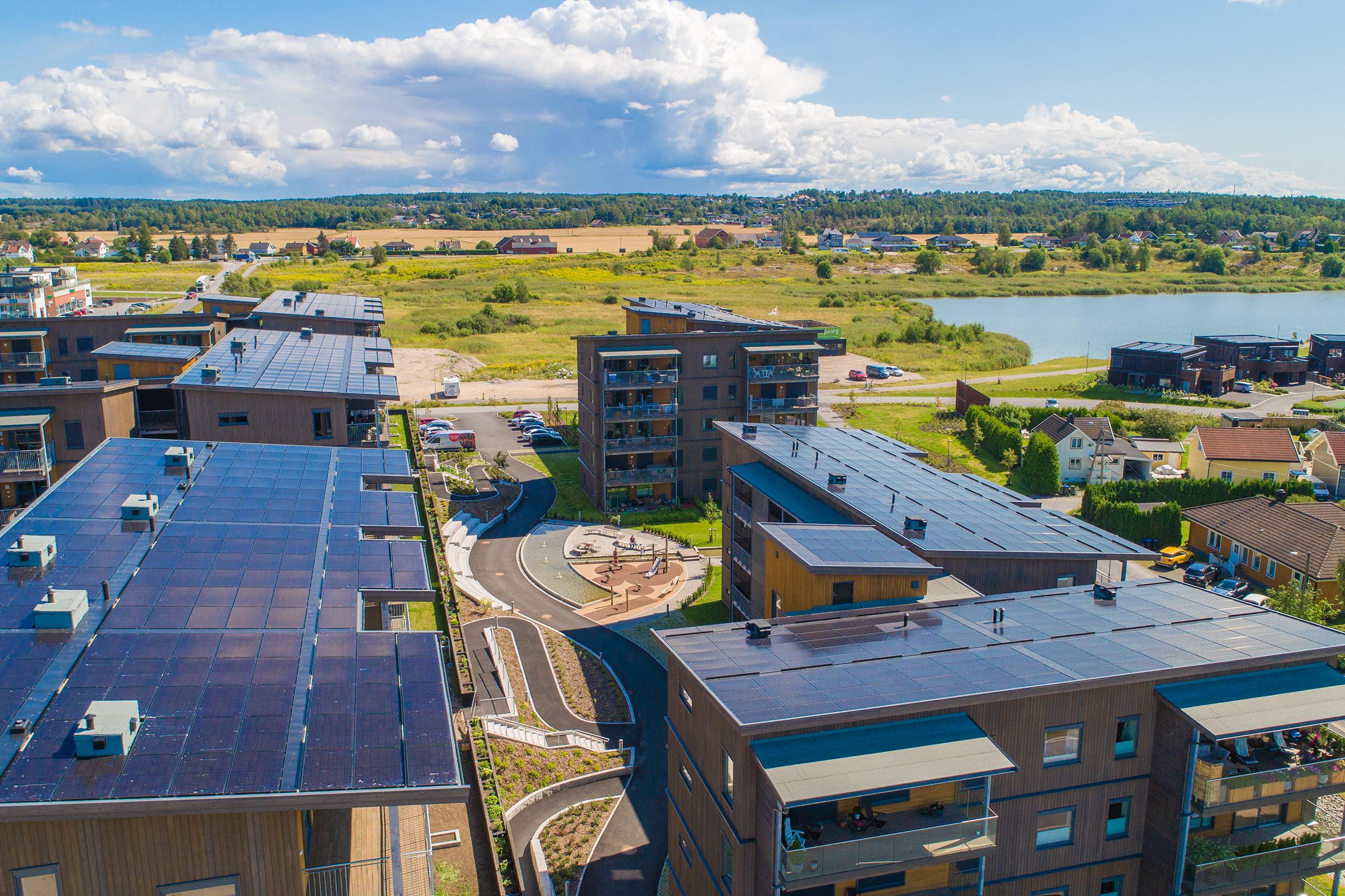 Capjon Park - solenergi tak
