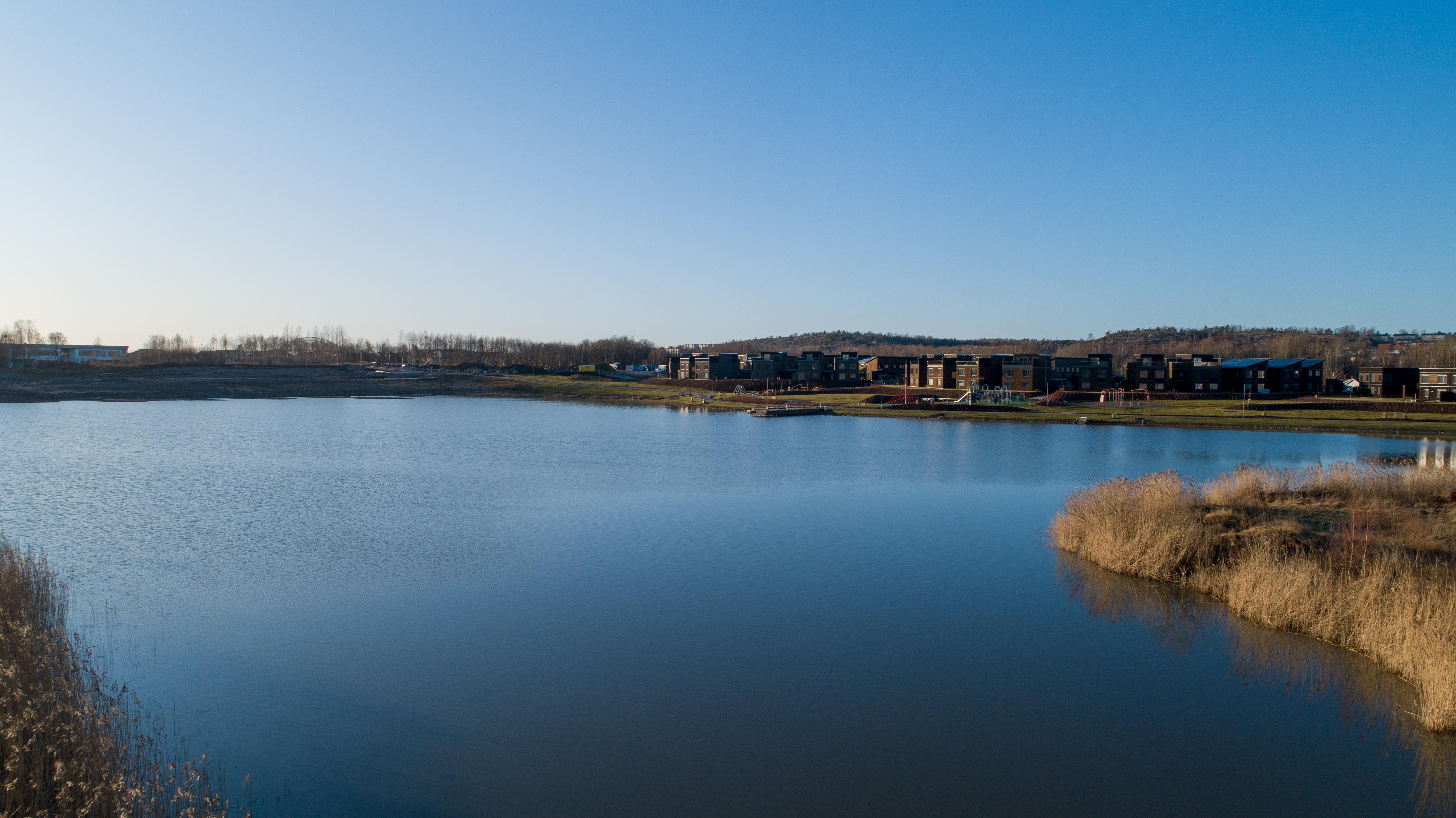 Verksbyen - vannet