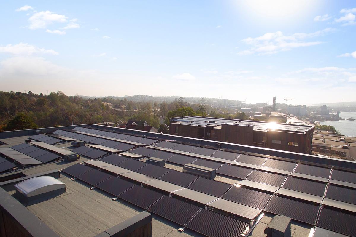solceller røysåsen